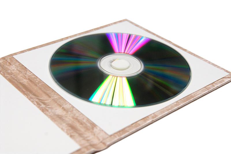Obal na CD/DVD Champagne 2