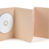 Obal na DVD Light Brown + leporelo