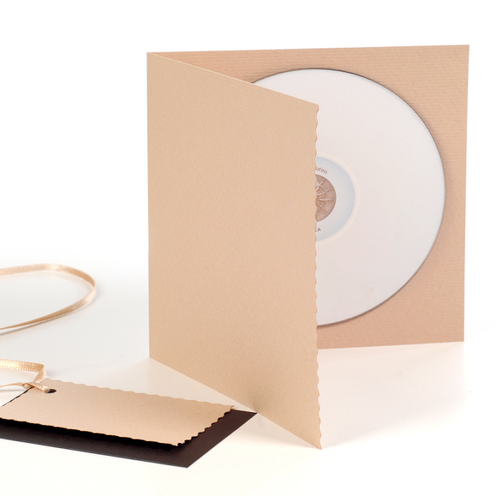 Obal na CD/DVD Light Brown