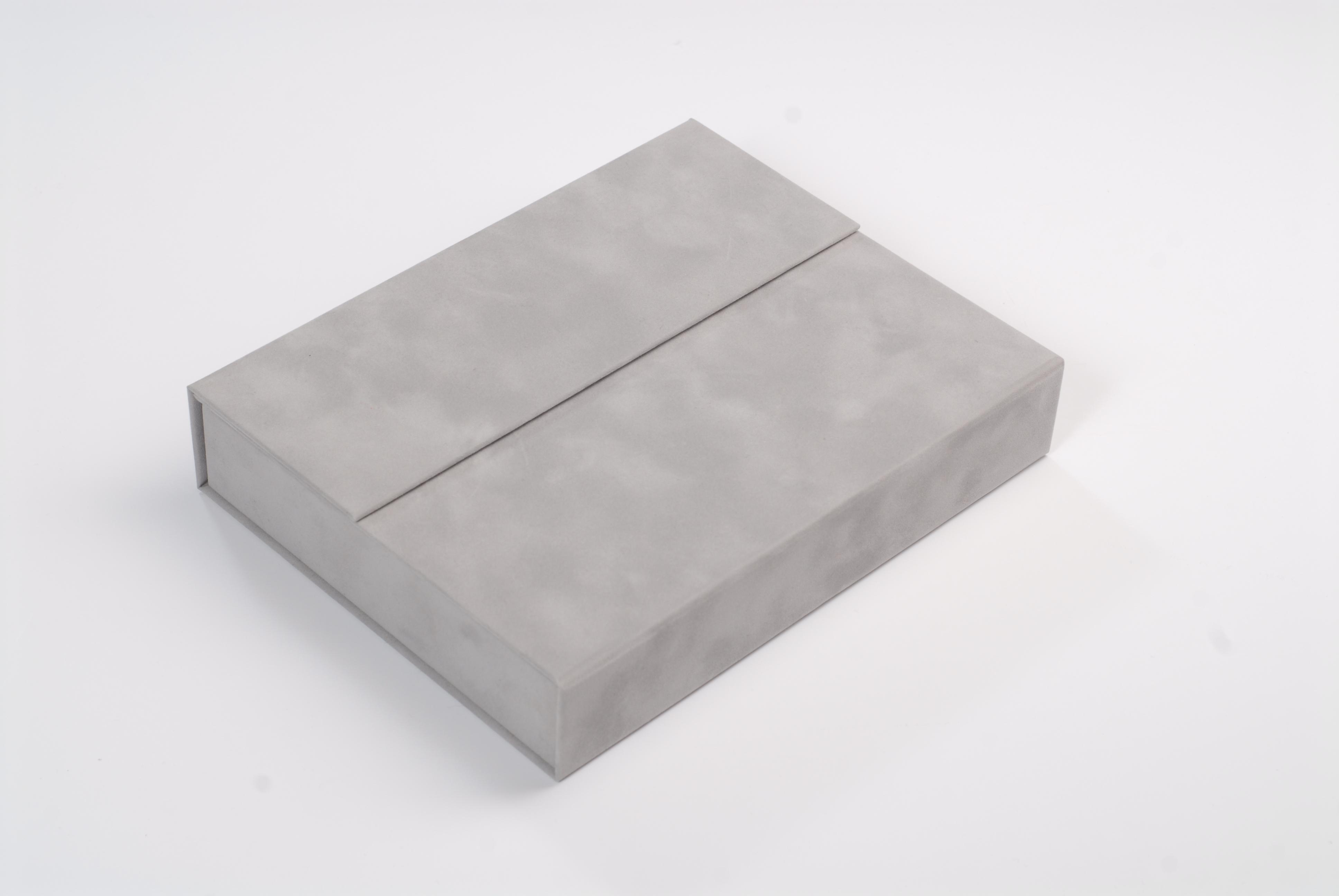 Dárková semišová kazeta printbox