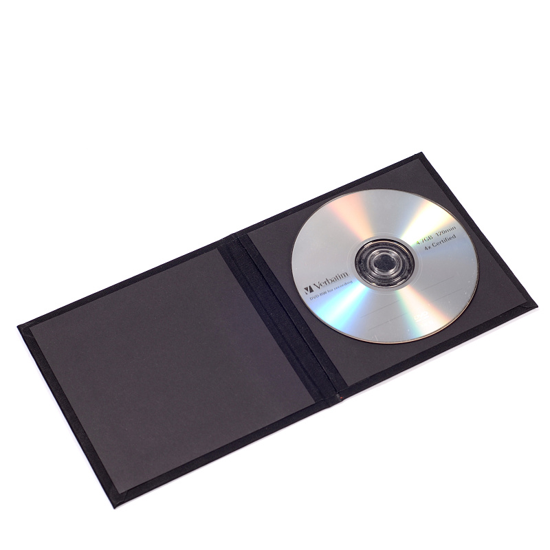CD/DVD obal Black Line