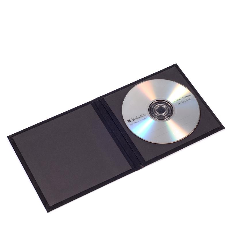 CD/DVD obal Black Style
