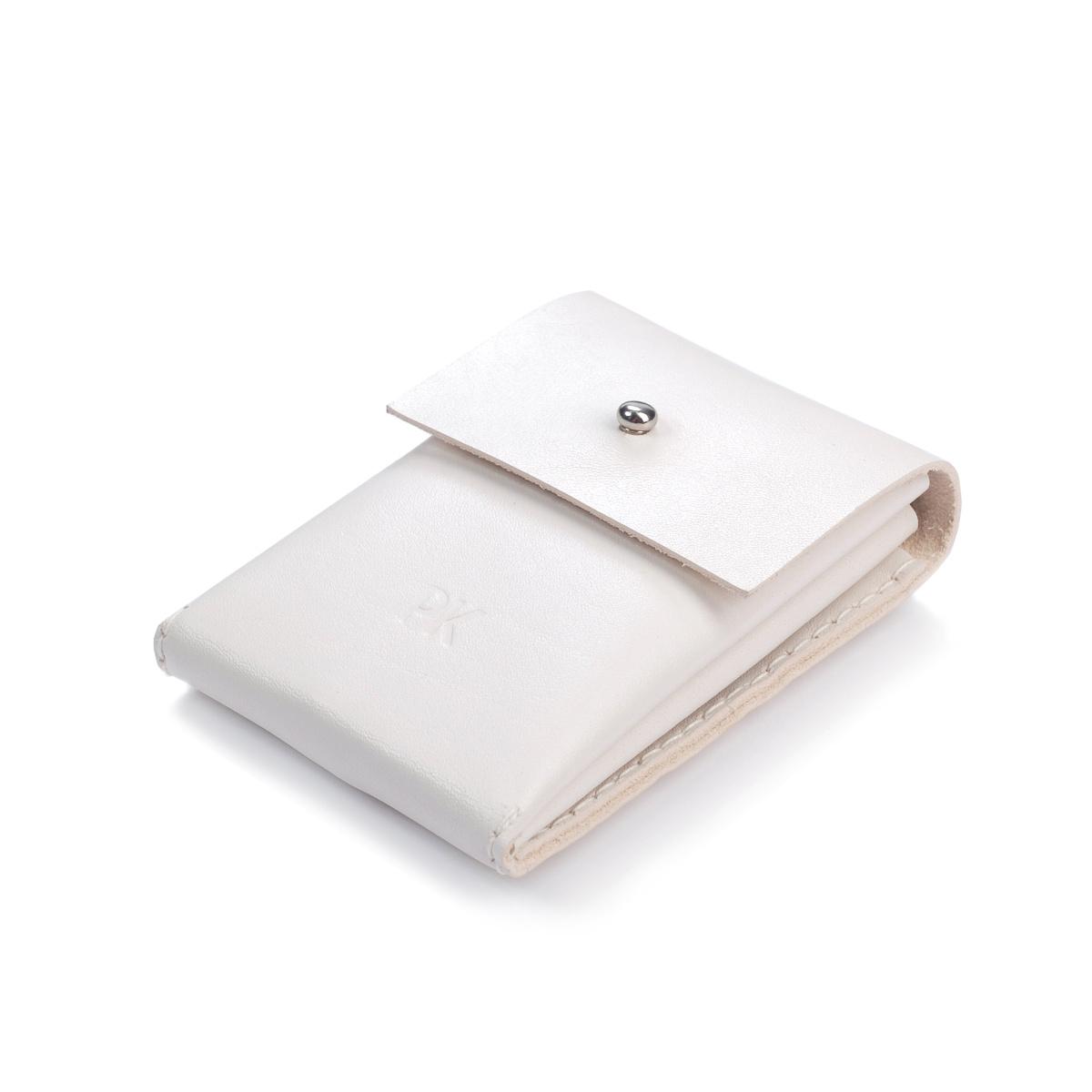 Kožená peněženka WHITE