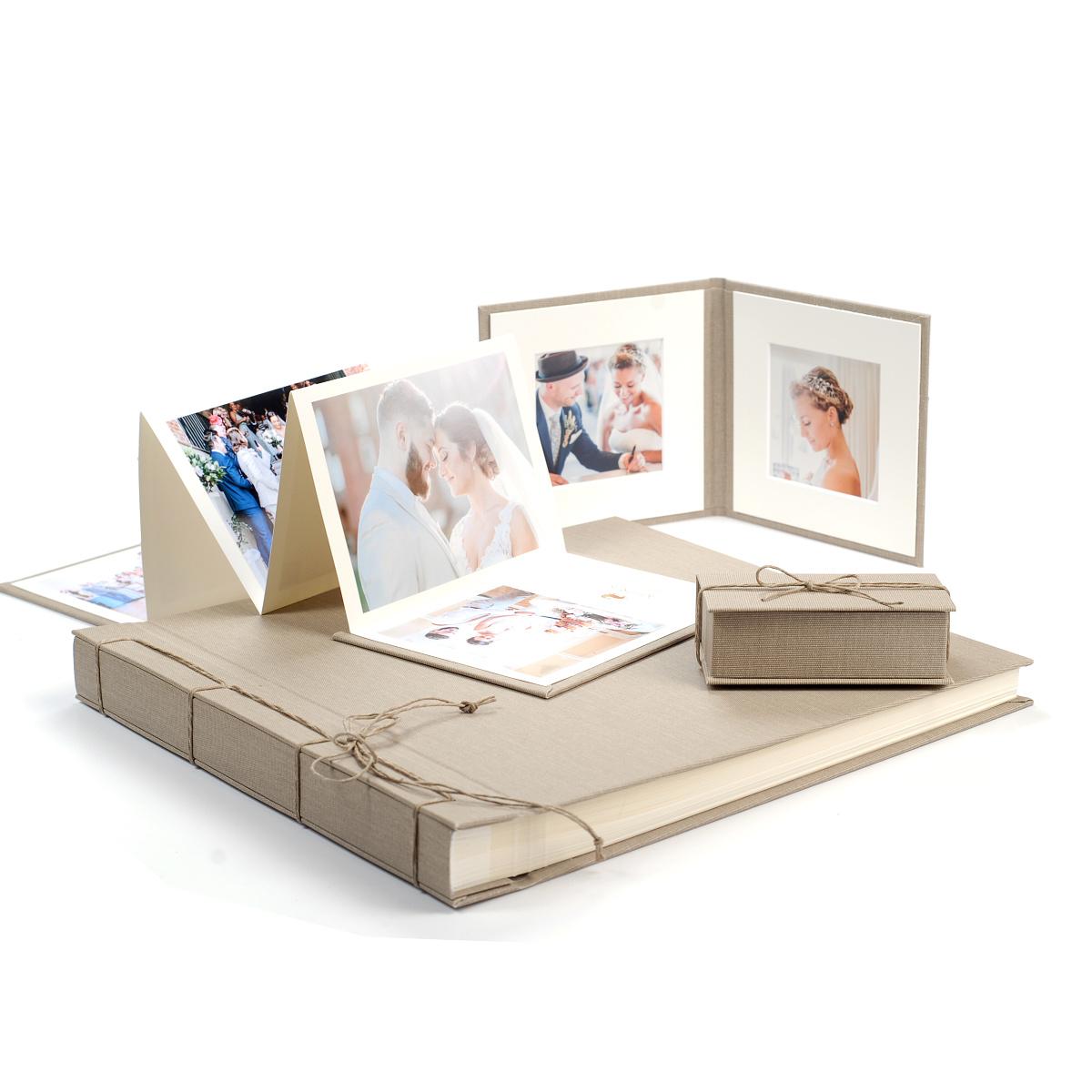 Svatební a dárkové folio Jute