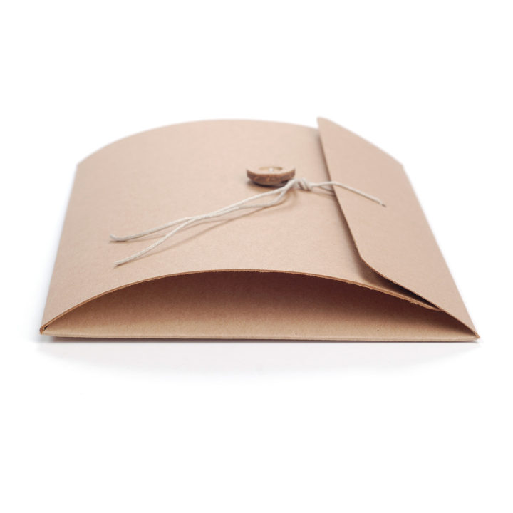 10 ks Kraftová obálka A5 na fotografie a dárky