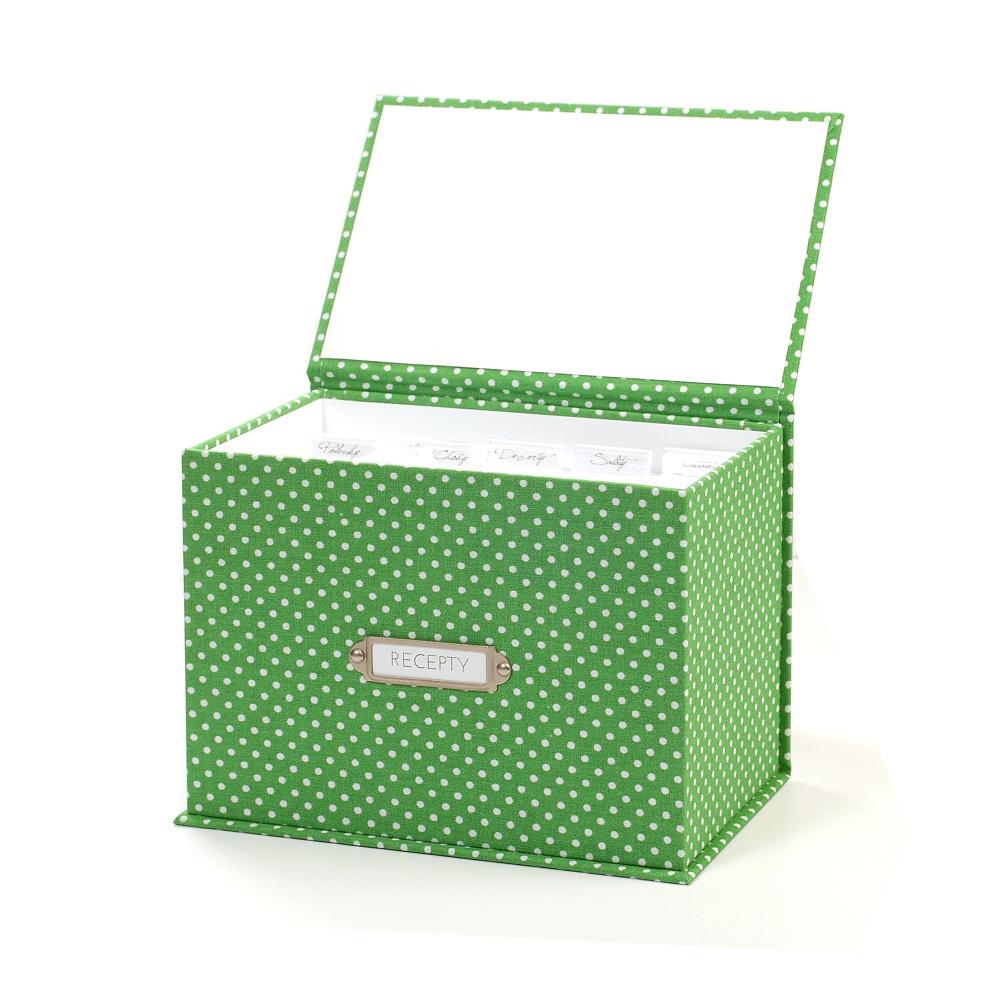 Receptář Puntík - Zelený