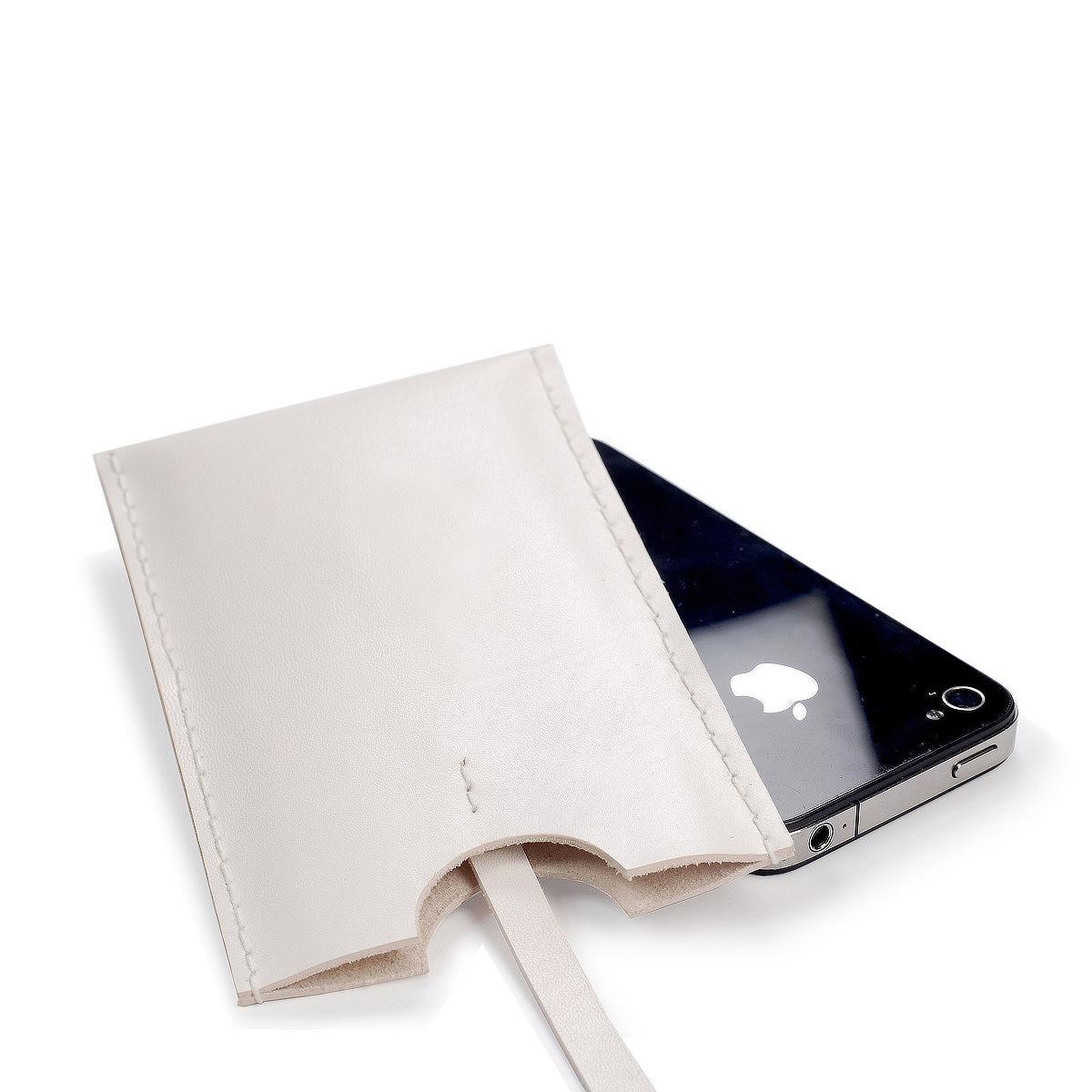 Kožené pouzdro na mobil