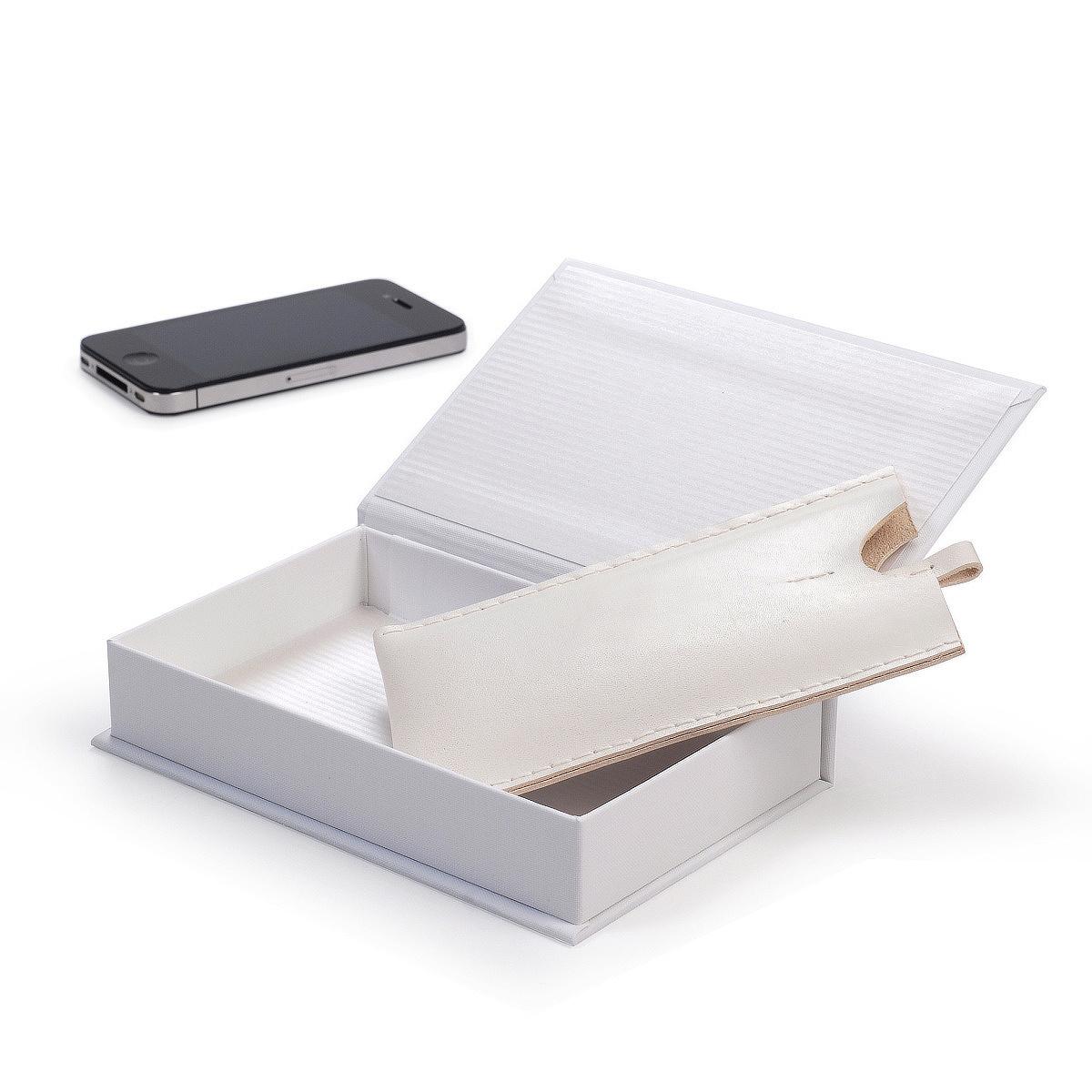 Kožené pouzdro na iPhone